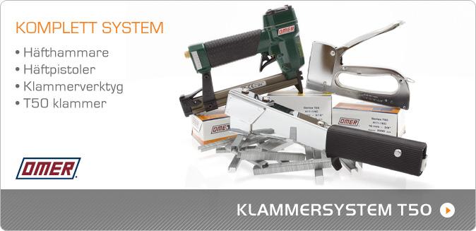 Klammersystemet T50