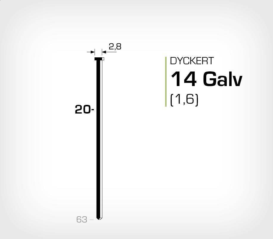 Dyckert 14/20 (SKN 16-20) Galv