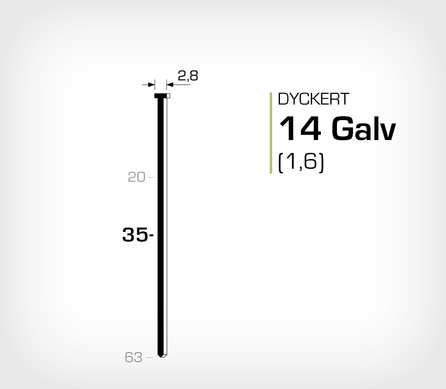 Dyckert 14/35 (SKN 16-35) - 2500 st /ask