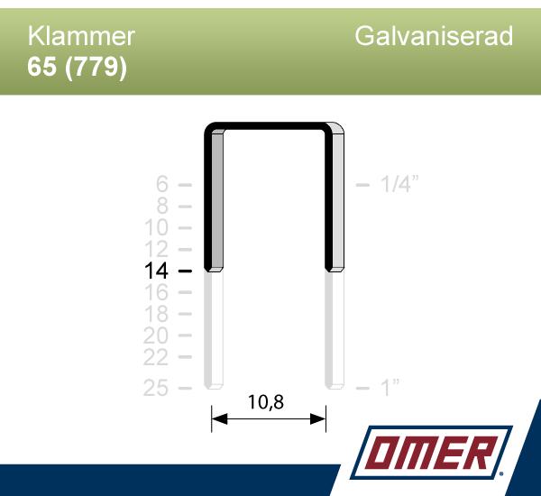 Klammer 65/14 (779-14) - Ask