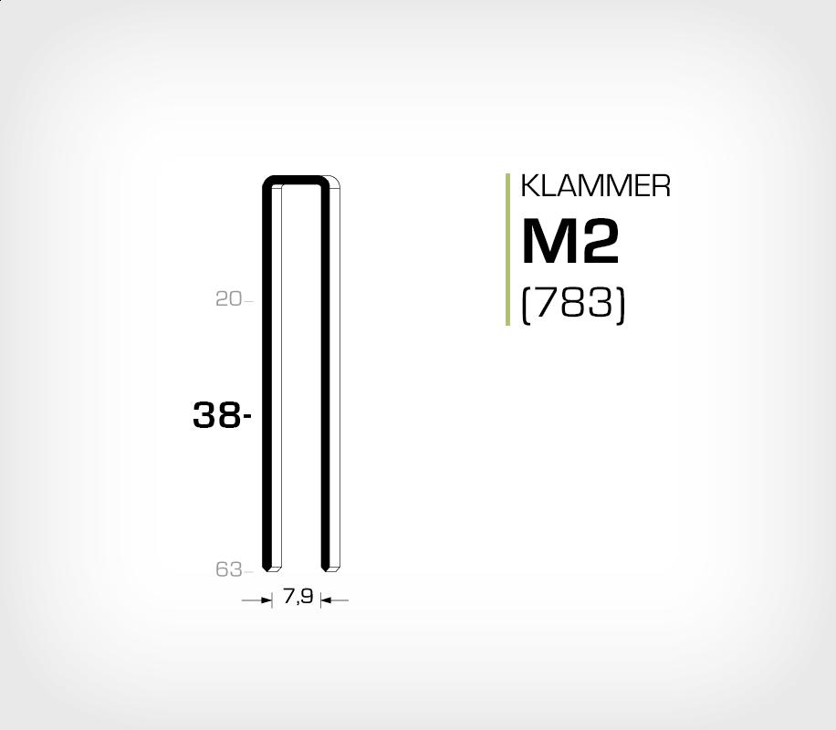 Klammer M2/38 (783-38)