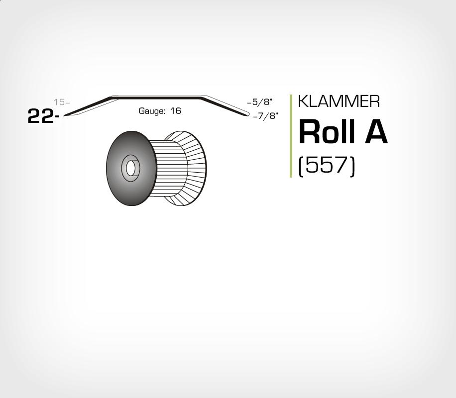 Klammer Roll A/22 (557) - OMER