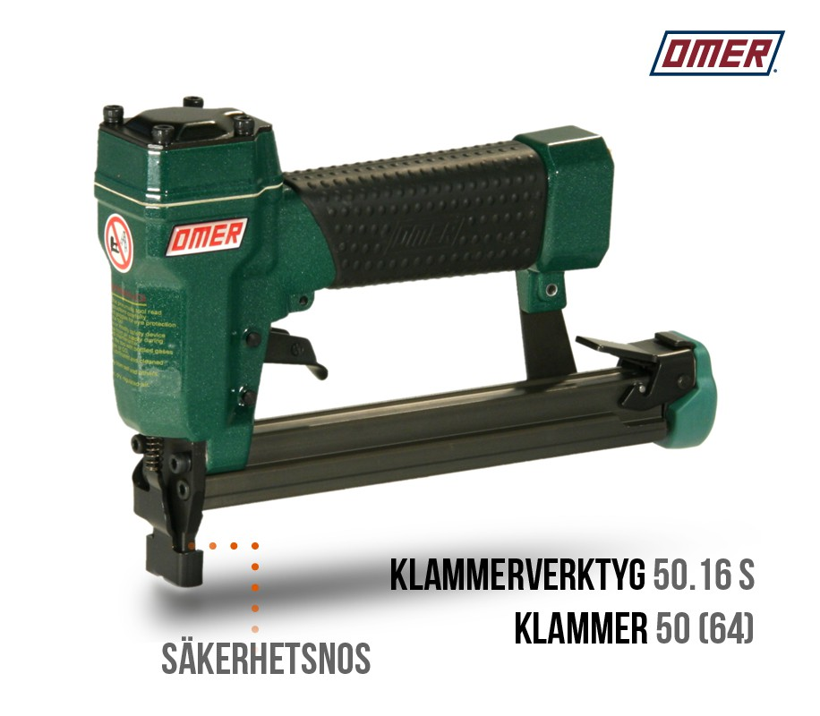 Klammerverktyg 50.16 S - Säkerhetsnos