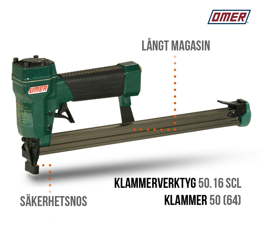 Klammerverktyg 50.16 SCL - Säkerhetsnos