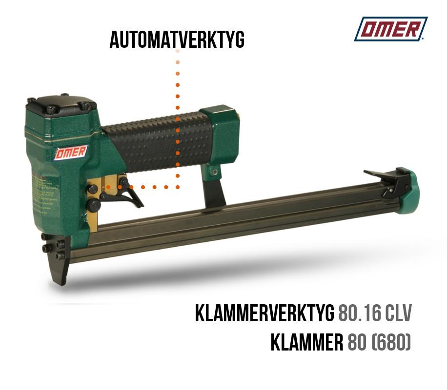 Klammerverktyg 80.16 CLV - Automatverktyg