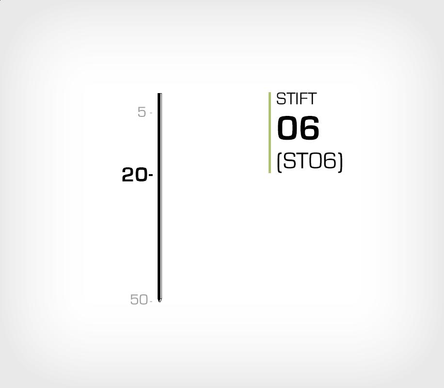 Stift 6/20 Stanox - Stiftverktyg