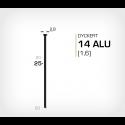 Dyckert 14/25 Aluminium (SKN 16-25 ALU) - 4000 st /ask