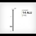 Dyckert 14/50 Aluminium (SKN 16-50 ALU) - 4000 st /ask
