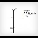 Dyckert 14/50 SS Rostfri (SKN 16-50 SS) - 4000 st /ask