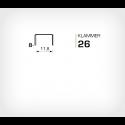 Klammer 26/6 (Rapid 26/6 Strong) - 5000 st / ask