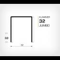 Klammer 32/32 - 1000 st / ask