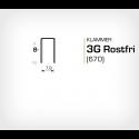 Klammer 3G/8 SS Rostfri (670-08 SS) - 10000 st / ask