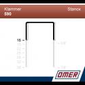 Klammer 590/16 - 20000 st / kartong