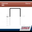 Klammer 590/19 - 10000 st / kartong