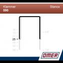 Klammer 590/25 - 10000 st / kartong