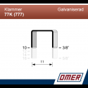 Klammer 77K/10 (777-10) - 3000 st / ask