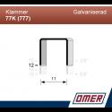Klammer 77K/12 (777-12) - 3000 st / ask