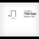 Klammer T50/12 (671-12) - 5000 st / ask