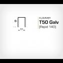 Klammer T50/6 (671-6) - 5000 st / ask