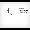 Klammer T50/8 ALU (671-8) - 5000 st / ask