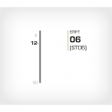 Stift 6/12 Stanox - 10000 st / ask