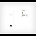 Stift I/40 Galv - 7000 st / ask