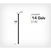 Dyckert 14/16 (SKN 16-16) Galv