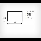 Klammer 32/15 (561-15K) - OMER