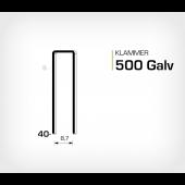 Klammer 500/40 Elförzinkad Galv (HK540)