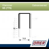 Klammer 65/16 (779-16) - Ask