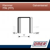 Klammer 77K/16 (777-16) - Ask