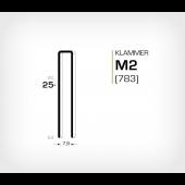 Klammer M2/25 (783-25)