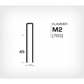 Klammer M2/45 (783-45)