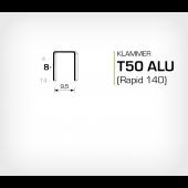 Aluminium Klammer T50/8 ALU (671-8) - OMER