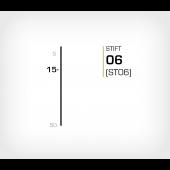 Stift 6/15 Galv - Stiftverktyg