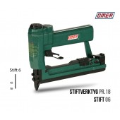 Stiftverktyg PR18 - OMER