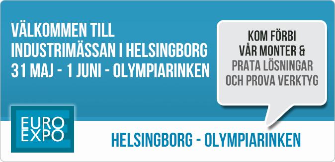 Besök oss på EuroExpo i Helsingborg 31 maj - 1 juni